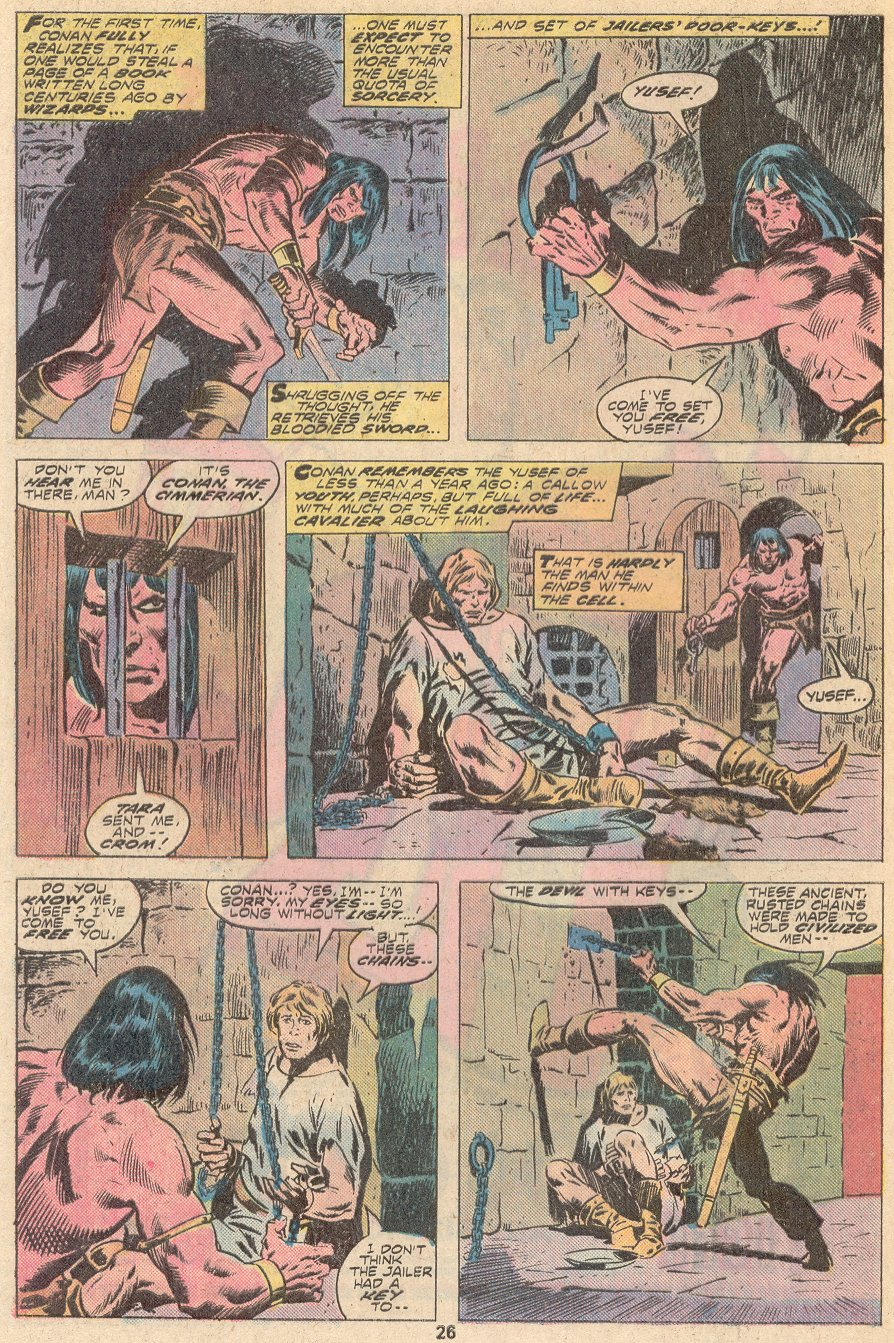 Conan the Barbarian (1970) Issue #67 #79 - English 16