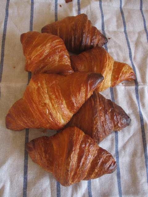 croissant with natuaral starter - the new pb