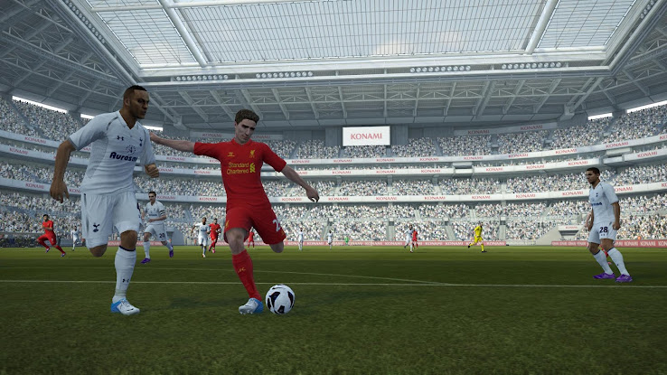 Adds 17 fully updated teams to PES 2013 Demo (Arsenal, Chelsea ...