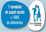 """A campanha do BANCO ALIMENTAR - """"Papel por Aimentos"""", continua ..."""