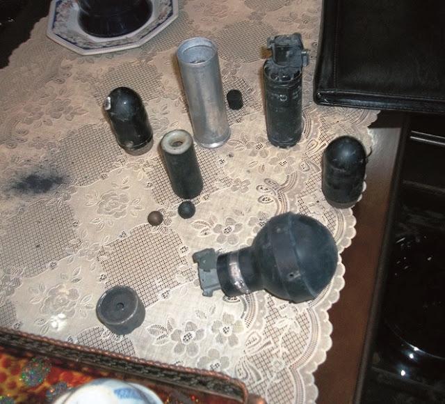 Bomba de gás utilizada por Israel vira bomba de fragmentação