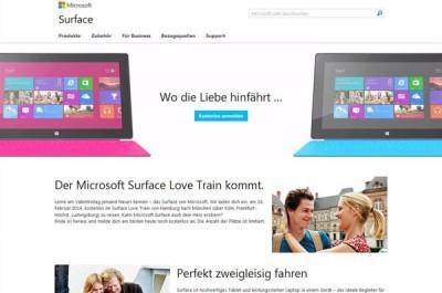 Sambut Valentine, Microsoft Tebar Tiket Kereta Cinta