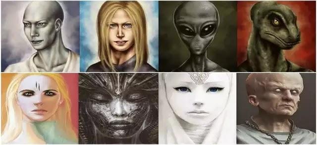 Ανδρομέδιοι: Μια εξωγήινη φυλή