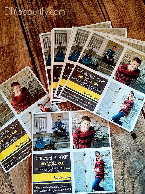 Save Money by Making Your Own Grad Announcements