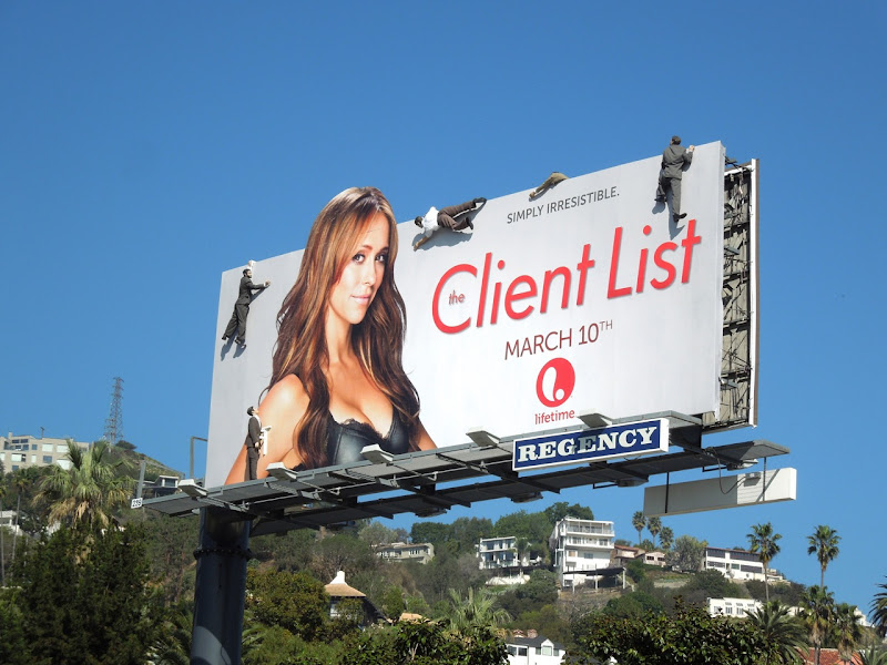 Jennifer Love Hewitt The Client List 2 mannequin billboard