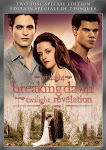 "DVD ""BREAKING DAWN, p1 en vente  compter du 11 fvrier 2012"