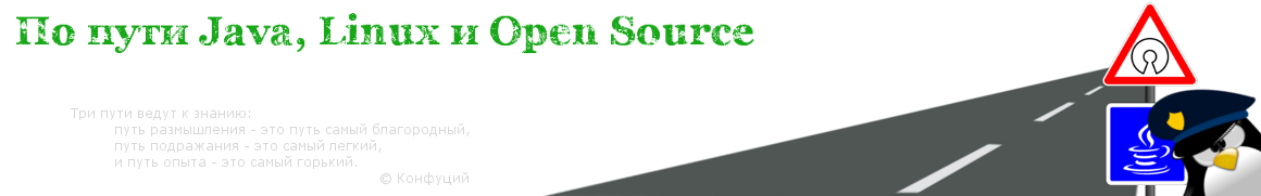 По пути Java, Linux и Open Source