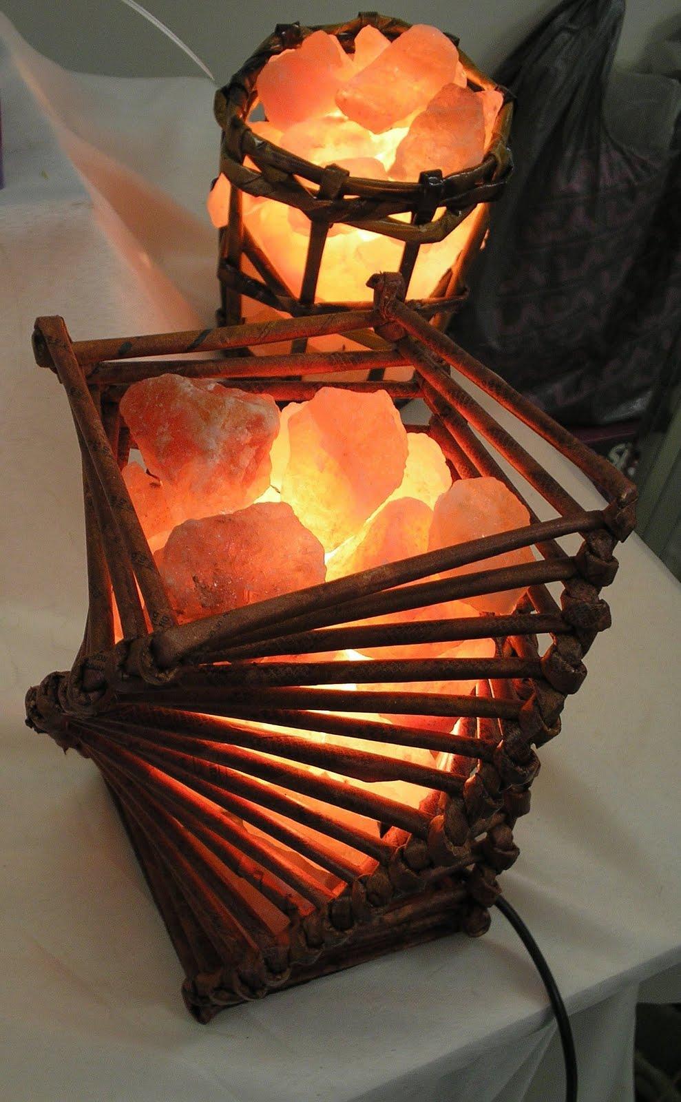 Objetos y deco lamparas de sal del himalaya modelo - Piedra de sal del himalaya ...