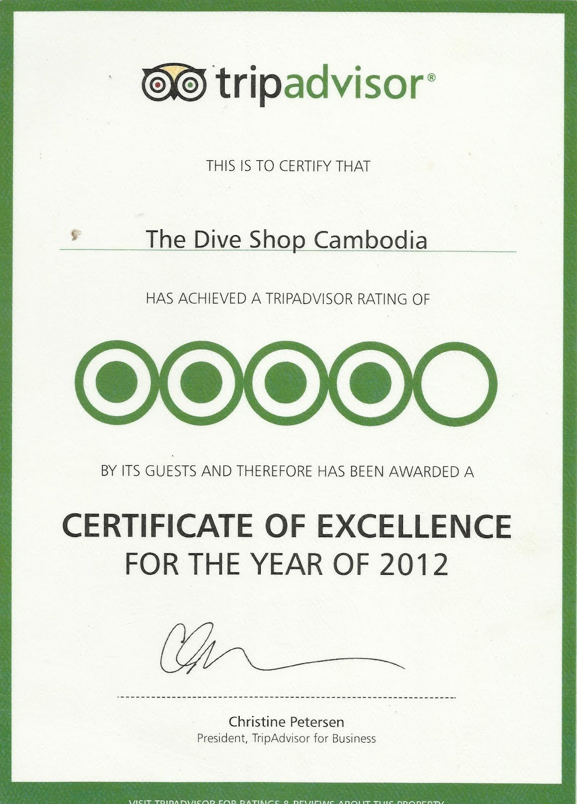The dive shop cambodia recommended by for The dive shop