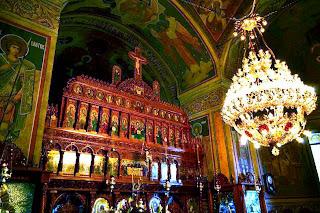 Manastirea Tudor Vladimirescu- Iconostasul