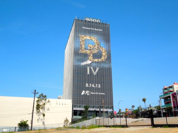 Giant Duck Dynasty season IV teaser billboard