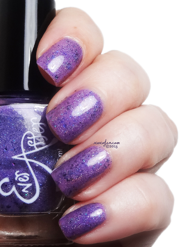 xoxoJen's swatch of Ever After Let's eat cake