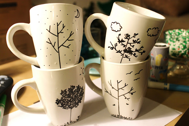 Diy under 5 features a little tipsy Creative mug designs