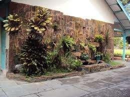 taman dinding tebing tukang taman hias jasa