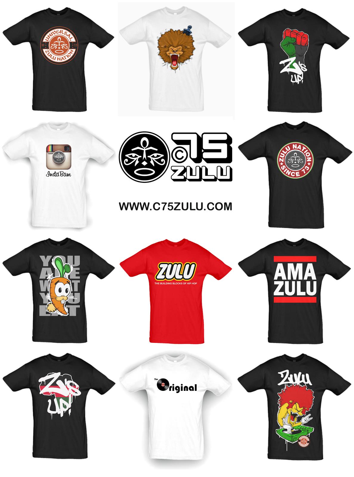 Zulu Nation Tshirts