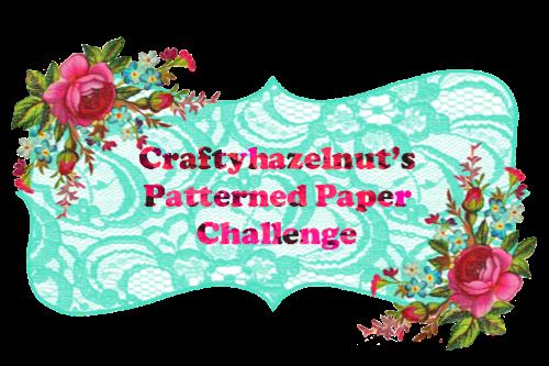 Challenge blog Patterned Paper