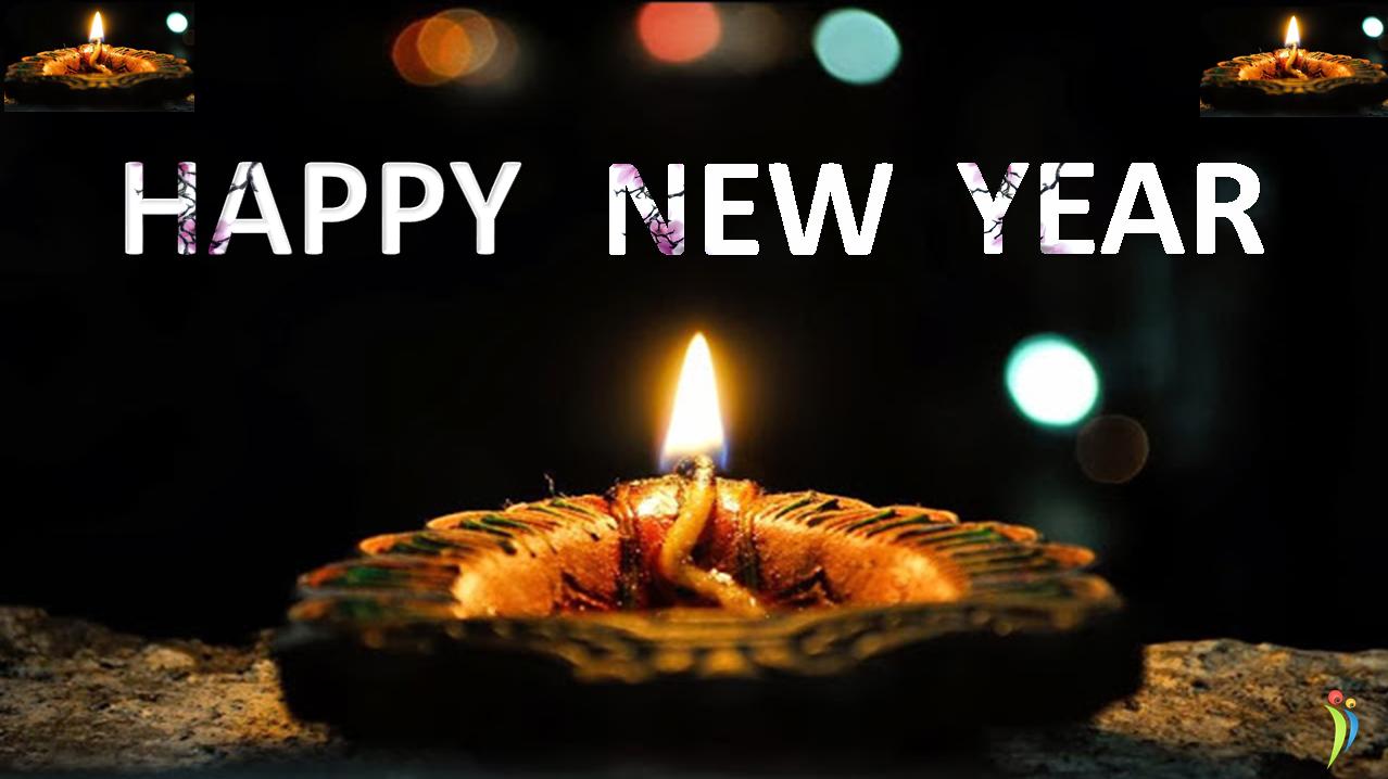 happy diwali happy new year new year 2015 wishes photo