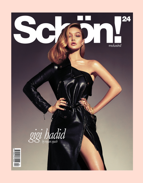 Gigi Hadid by Rayan Ayash for Schön! Magazine 24