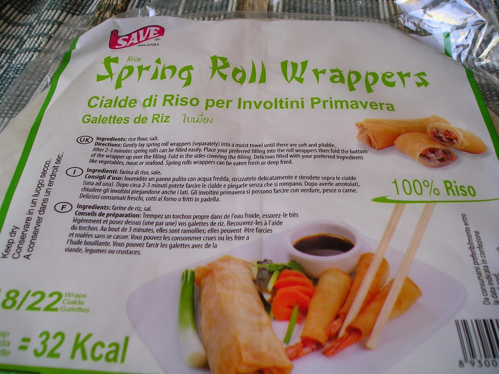 In cucina con nonnaGeca: Involtini primavera vegetariani