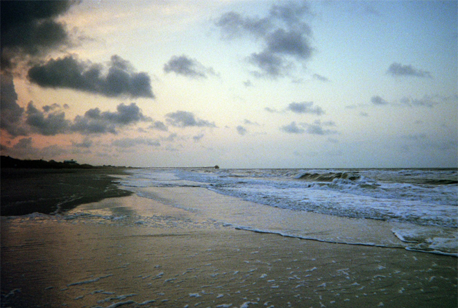 Atlantic Beach at dawn