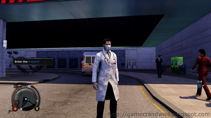 Wei Shen in Doctor's Costume