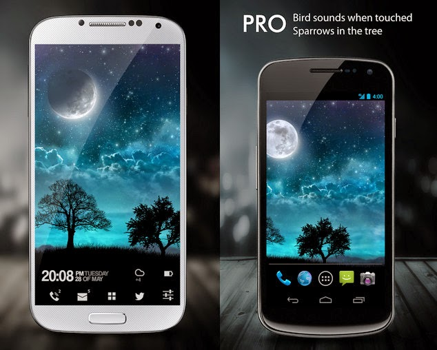 Dream Night Pro Live Wallpaper Apk SCREENSHOT