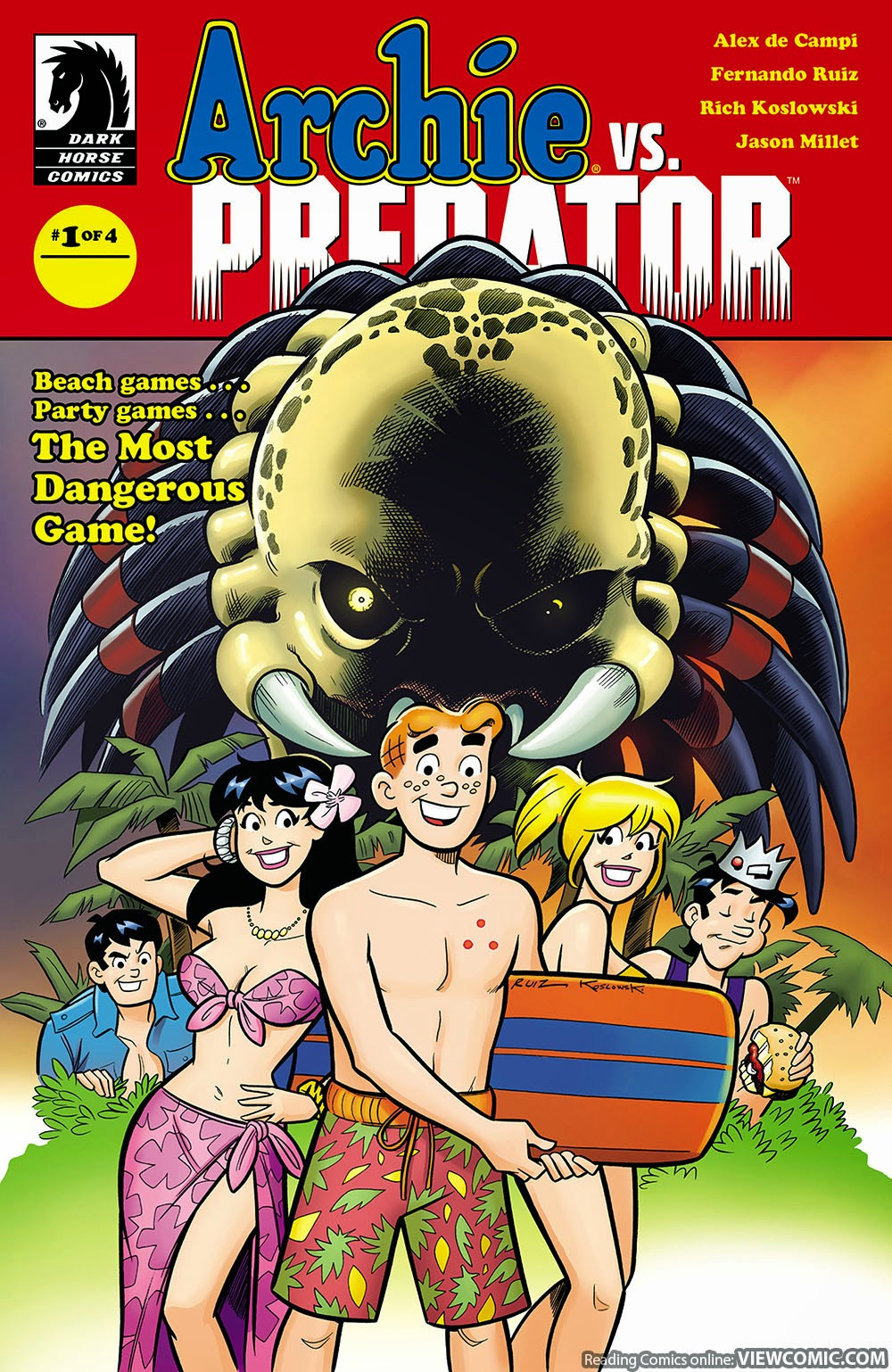 Worksheet Online Free Reading archie vs predator viewcomic reading comics online for free 01 of 04 2015