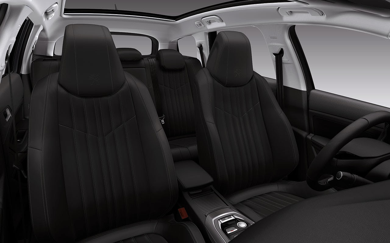 New Peugeot 308 SW - Sleek and Spacious interior