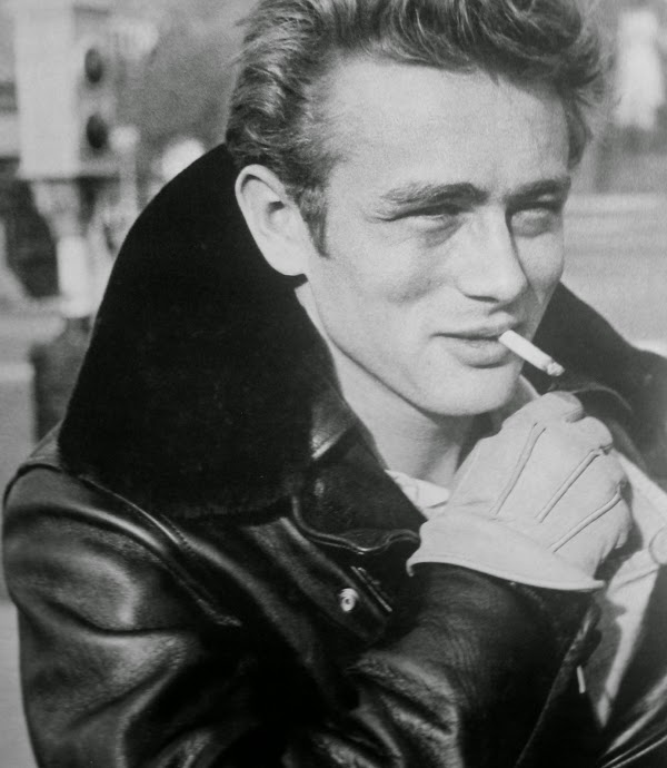 James dean smoking have