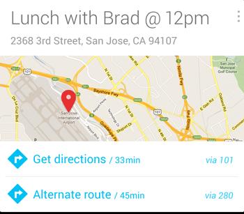 جوجل ناو ستقوم بتذكيرك بمكان سيارتك