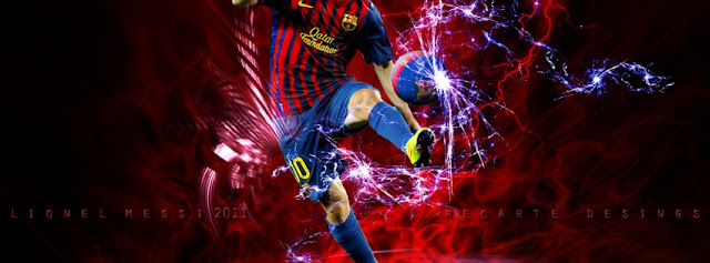 Couverture Facebook Lionel Messi
