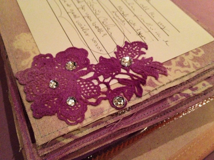 DIY Wedding Scrapbook Guestbook
