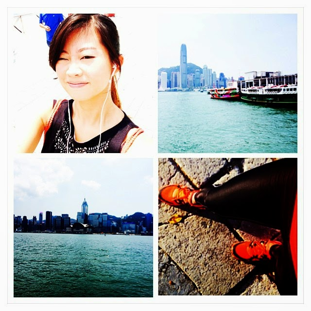 LISS - Low Intensity Steady State - Powerwalk along Hong Kong Harbour