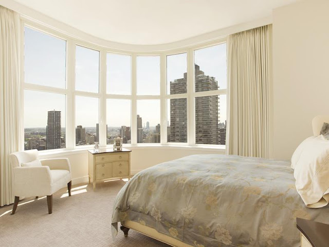 Photo of another bedroom in New York penthouse
