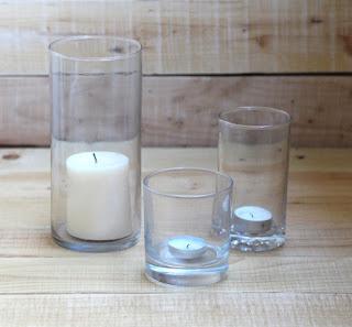 gelas silinder Membuat Lampion 3 Dimensi yang Unik