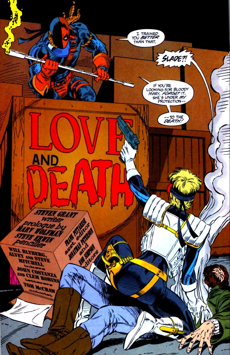 Deathstroke (1991) Issue #21 #26 - English 8