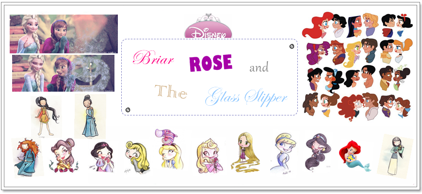 Briar Rose and The Glass Slipper