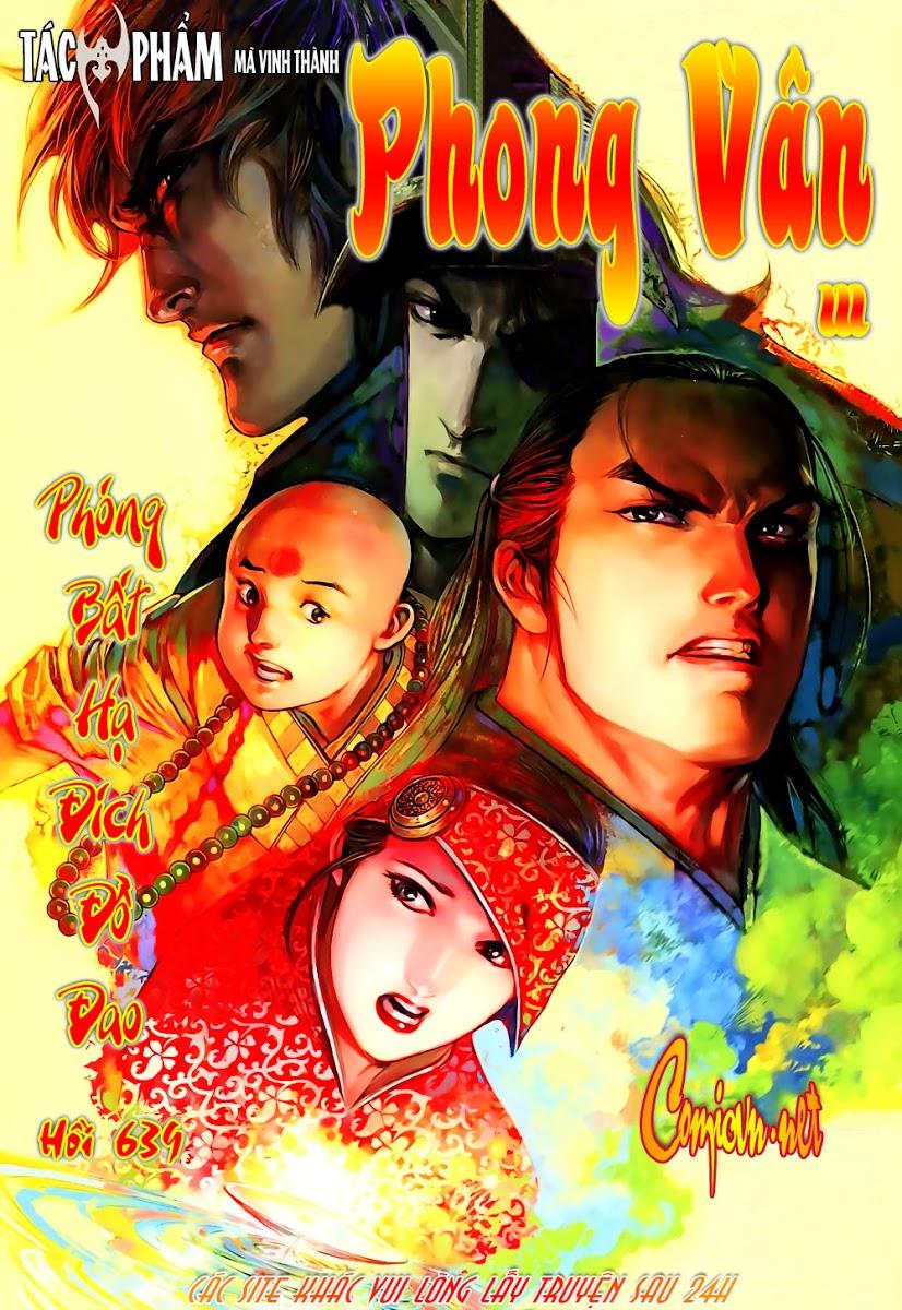 Phong Vân chap 639 Trang 1 - Mangak.info