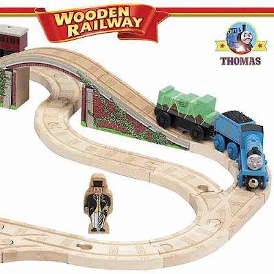 LC99563 Edward the great Thomas the tank engine wooden train set layout rail model steam-engine toys