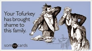 Tofu Turkey ecard