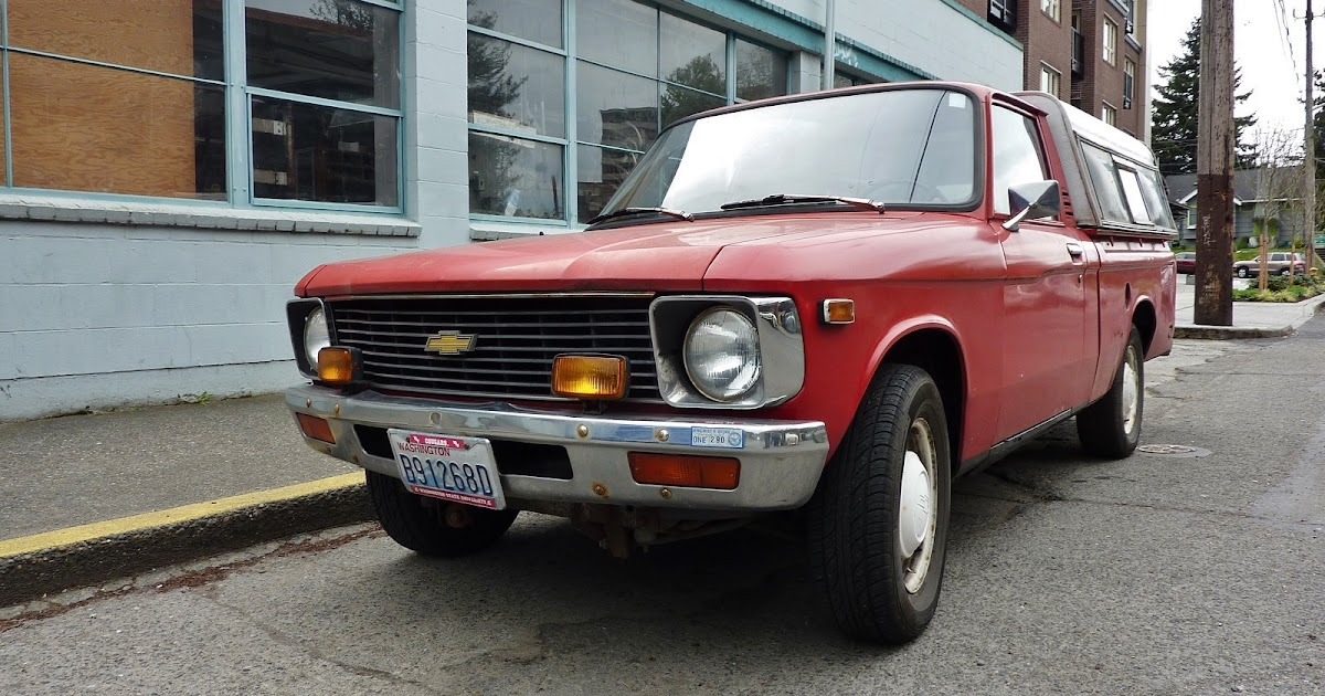 Seattles Parked Cars 1978 Chevrolet Luv