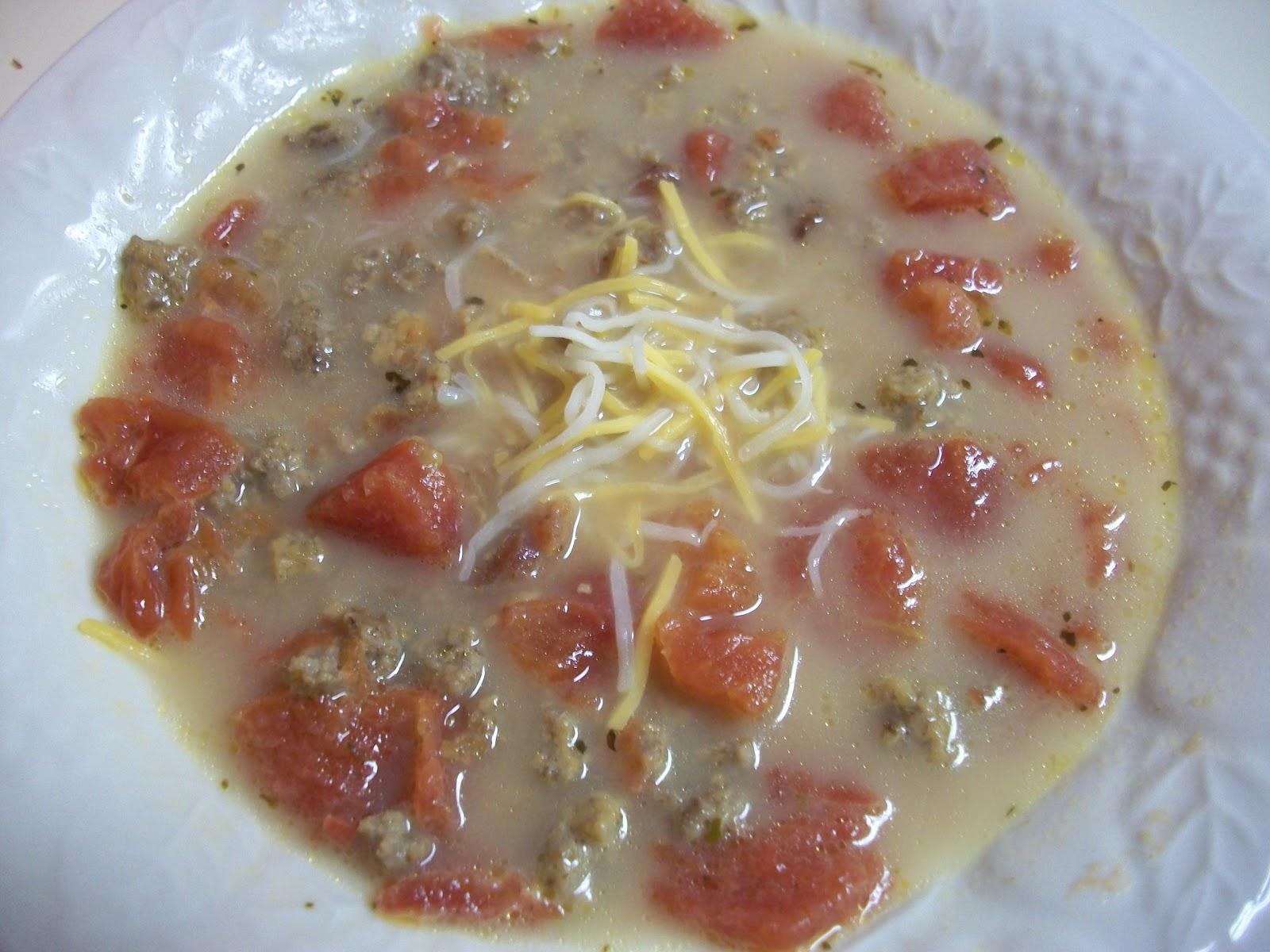 Bacon Cheeseburger Soup | Sandy\'s Kitchen