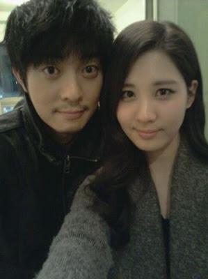 Foto Yoon Gun dan Seo Hyun SNSD
