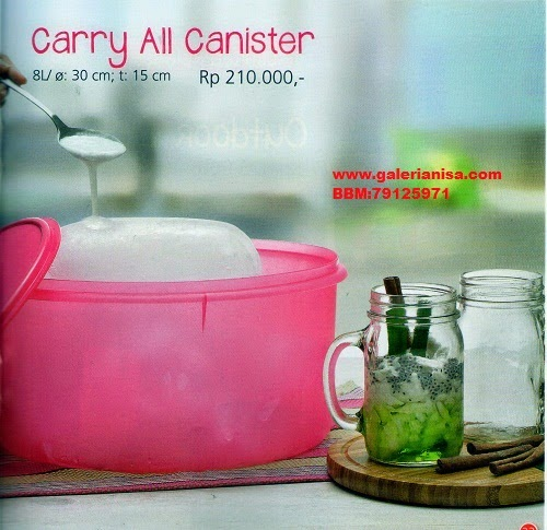 Tupperware Promo Agustus 2014 Carry All Canister