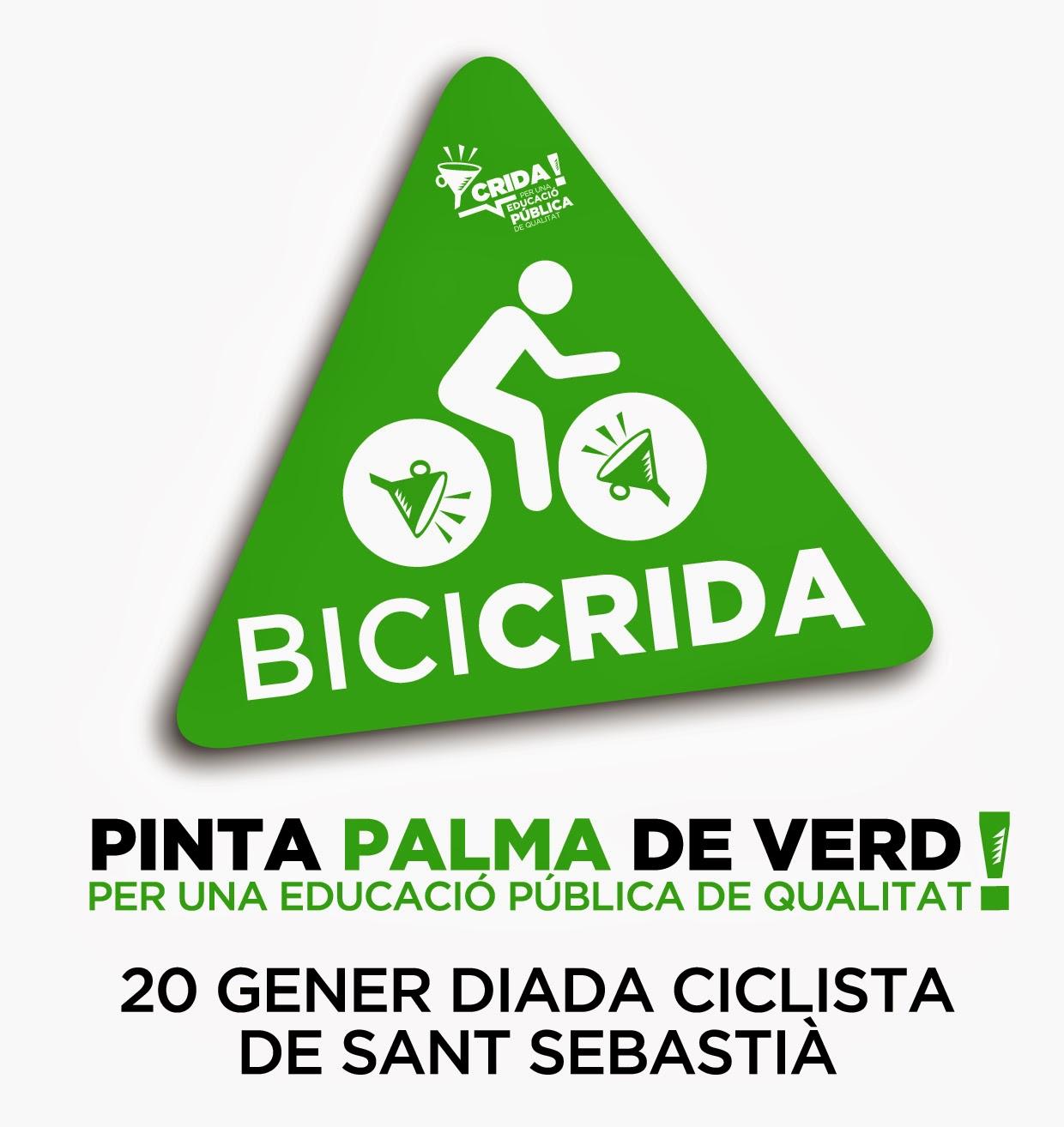 BiciCrida. Diada ciclista reivindicativa 20G