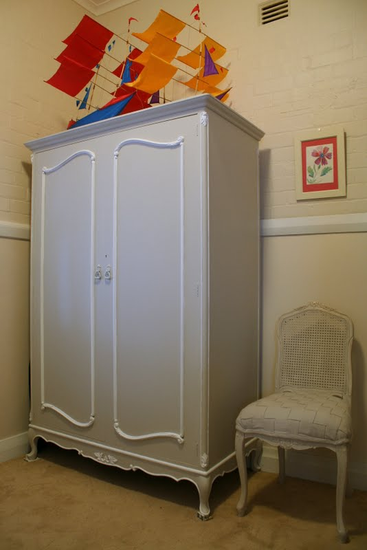 Lilyfield Life A Painted French Armoire