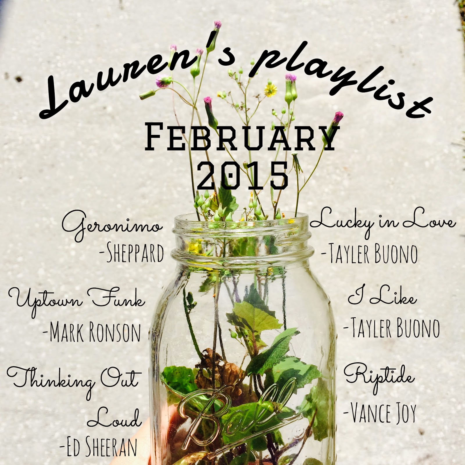 february 2015 music playlist, february music favorites