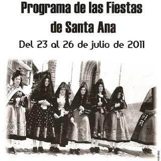 Cartel de las fiestas 2011 de Candelario Salamanca 1