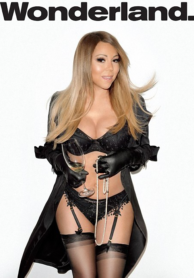 Mariah Carey en Wonderland Magazine