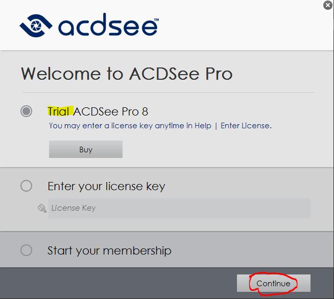 โปรแกรม acdsee pro 5 + keygen